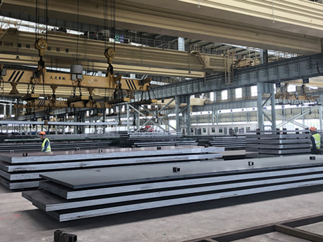 BBN Steel supply 16Mo3 hot rolled plates and sheets spot
