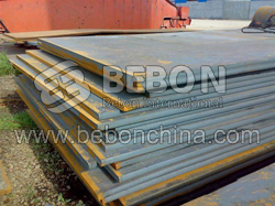 ASTM En10025 Fe 430B steel plate Carbon structural and high strength low alloy steel steel steel pla