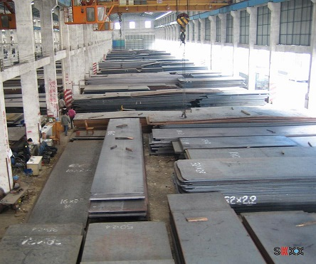 SM490YA low alloy high strength steel plate