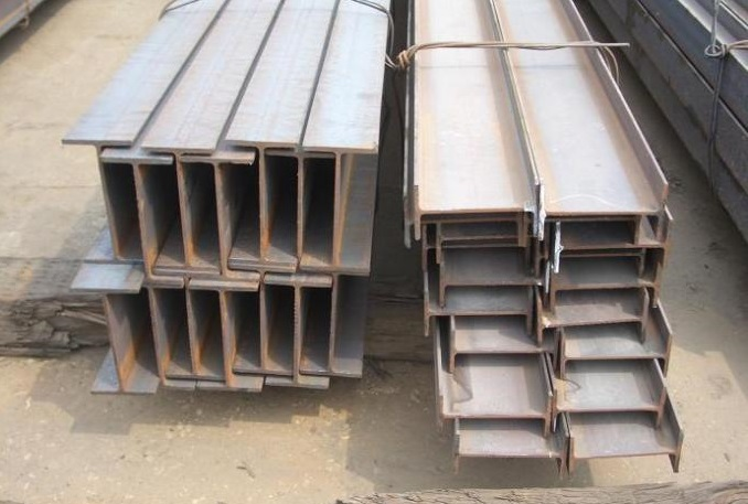 S235 hot rolled material H beam